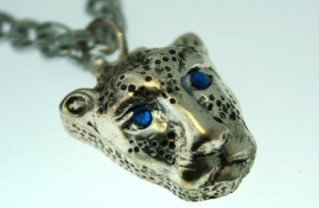 Panther Pill Box Necklace