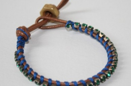 Leather wrap bracelet 2