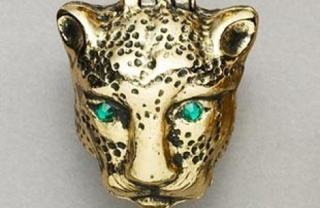 Panther Pill Box Ring