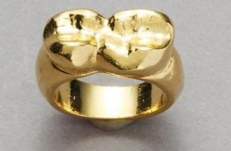 Single Molar Tooth Ring